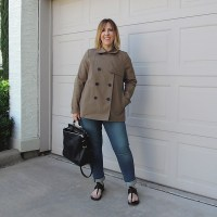 Outfit // Everlane Swing Trench Review