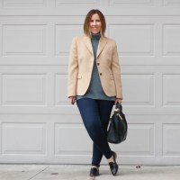 Outfit | Everlane chunky wool tunic