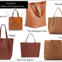 Buy This...Instead of That | Madewell  Vs. Made in the US Leather Totes