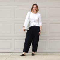 Outfit | Black Crane Carpenter Pants