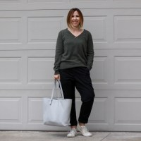 Outfit | What's in my Everlane Petra Market Tote?