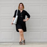 Weekend in Florida | James Perse shirt dress Two Ways
