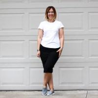 Outfit | White Slub Crew Neck Tee