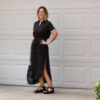 Outfit | Reformation Surplus Cotton Dress