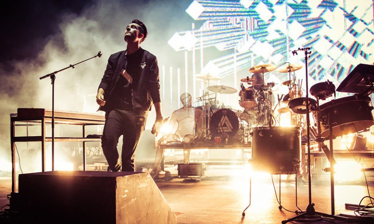 Bastille and Andrew McMahon play Jeep on The Rocks at Red Rocks 2016.