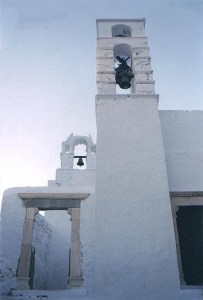 church in Hora in Amorgos