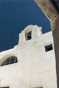 church at Monastiri beach in Paros