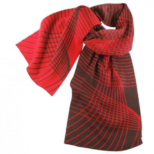 Schal aus 100% Merino-Wolle