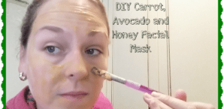 DIY Carrot, Avocado and Honey Facial Mask #Beauty #DIY