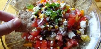 Healthy Garden Goodness Dip or Salad