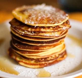 Easy Mouthwatering Pineapple Pancakes