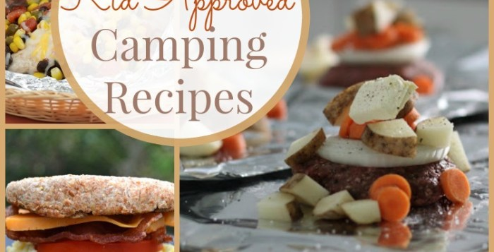 Healthy Kid Approved Camping Recipes