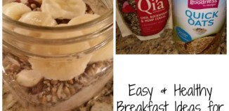 Easy & Healthy Breakfast Ideas for Busy Mornings