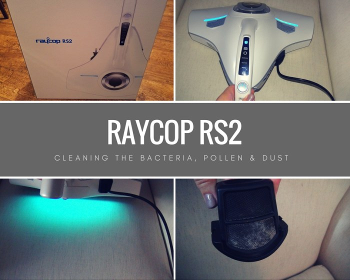 RACOP RS2 for Cleaning Dust, Pollen and Bacteria
