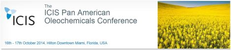 Twitter Coverage: ICIS Pan American Oleochemicals 2014