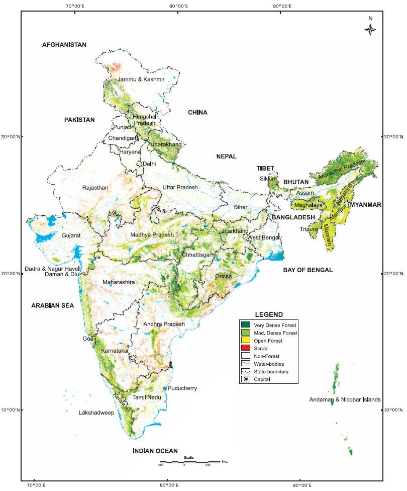 forest in india This is an incomplete list of forests in india name, image, location, area,  comments abujmarh, chhattisgarh, 3,900 km², this is a hilly forest covering.