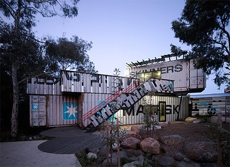 shipping container playground