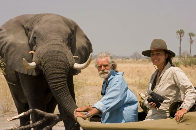 Dereck and Beverly Joubert of Great Plains Conservation Launch Rhinos Without Borders