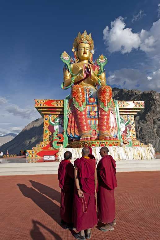 Nubra Valley Monks and Maitreya V