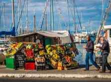 A Fruit Stand on Aegina Island, Greece