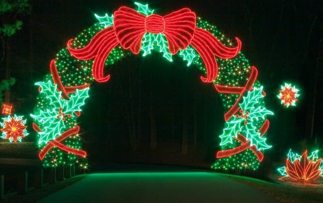 5 best christmas light displays in georgia 2015 update - Callaway gardens festival of lights ...