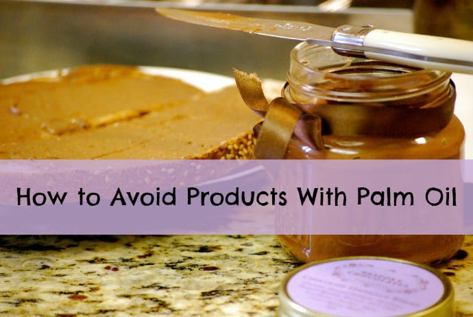 How to Avoid Products With Palm Oil