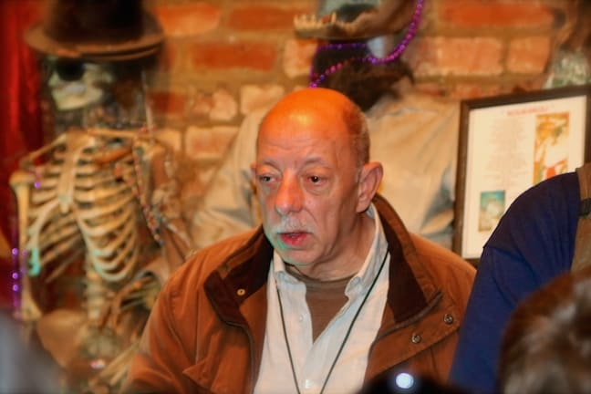 Owner Jerry Gandolfo at the New Orleans Historic Voodoo Museum