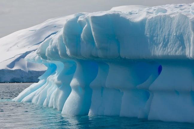 Icebergs Near Spert Island, Antarctica