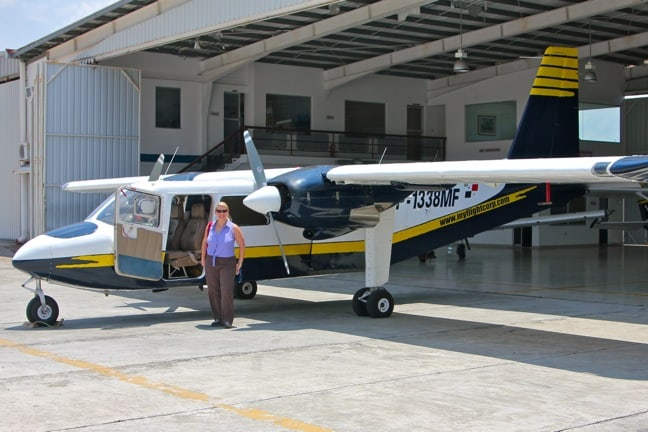 Taking a Private Plane to Panama