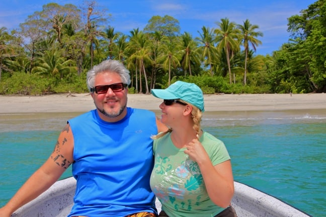 Green Global Travel in Islas Secas, Panama