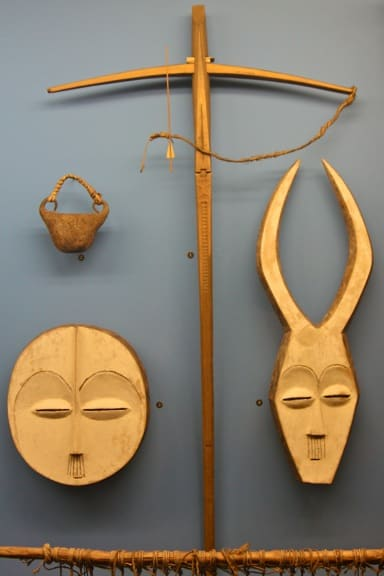 African Masks at the American Museum of Natural History, New York
