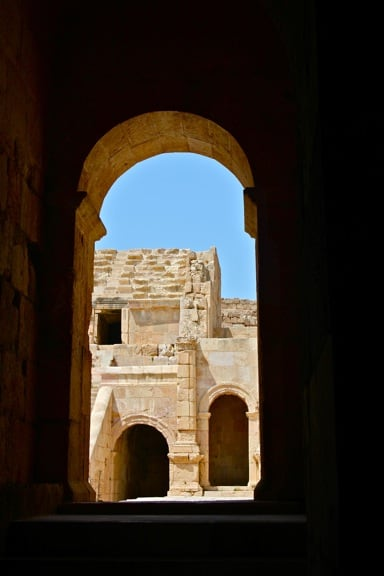 Jerash's North Theater