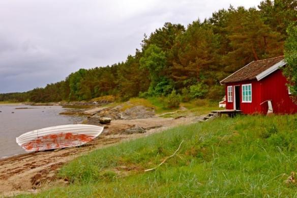 Kilesand Beach on South Koster Island, Sweden