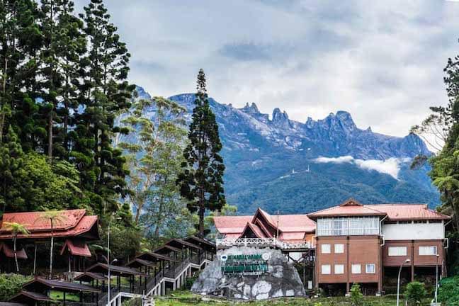 Kinabalu Park in Sabah, Borneo