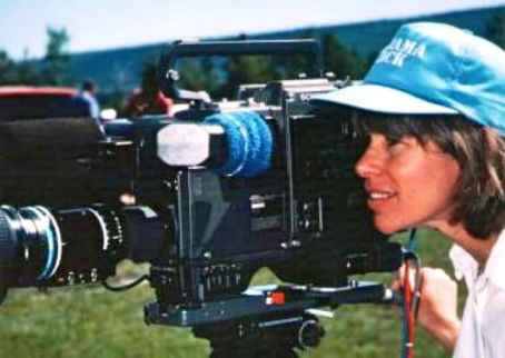 "Megan Epler Wood Filming ""The Environmental Tourist"" in 1989"