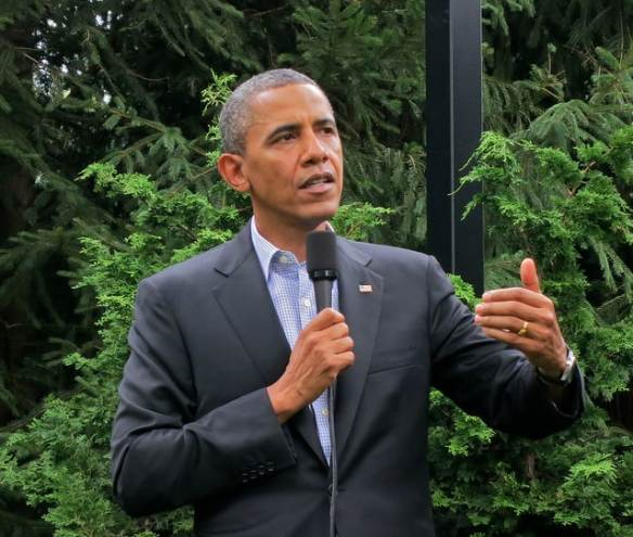 Obama Gets Greener (Courtesy of Steve Jurvetson)