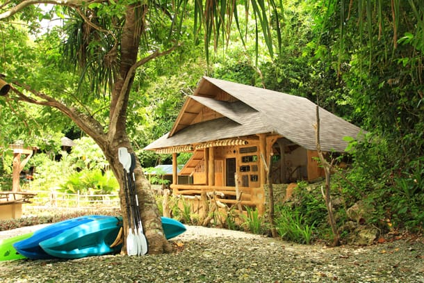 Philippine Island of Danjugan - Eco-Cabana