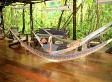 Relaxation along the Rio Dulce in Guatemala