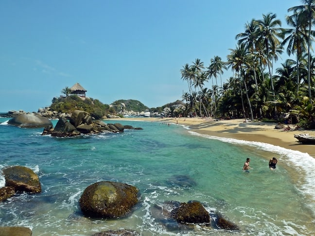 El Cabo San Juan Beach, Tayrona National Park, Colombia