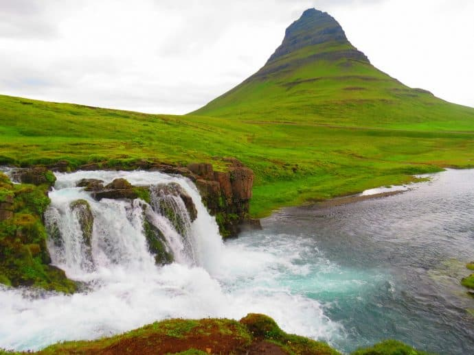 Top 7 Things to do in Iceland - Kirkjufellsfoss Waterfall, photo by Mike Jerrard