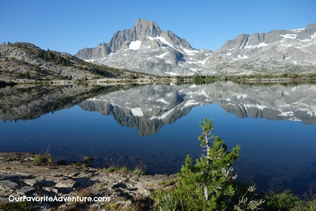 Hiking the John Muir Trail -Thousand Island Lakes