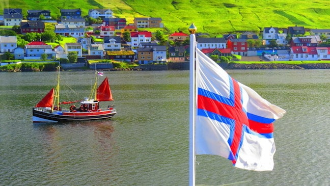 Traditional Faroe Islands Boats, by Mike Jerrard