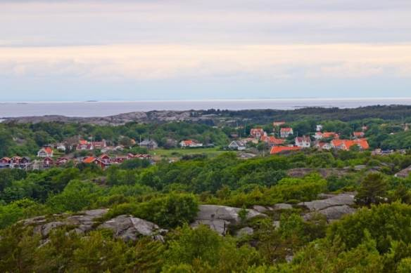 View from Valfjäll of South Koster_Island, Sweden