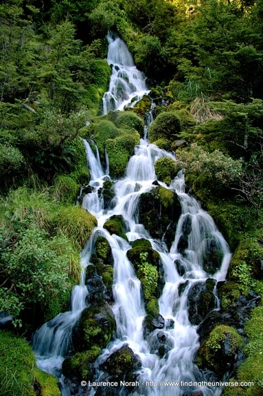 Waterfall Next to Waitonga, New Zealand