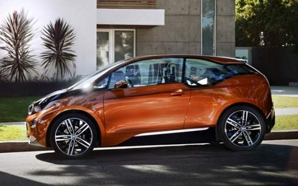 2014 Electric Vehicles, BMW i3