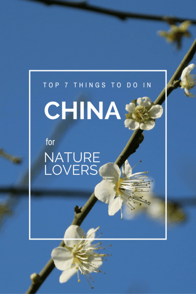 Things to do in China for Nature Lovers