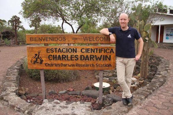 Charles Darwin Foundation Executive Director Swen Lorenz
