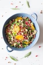 Winter Salad with Sage Vinaigrette