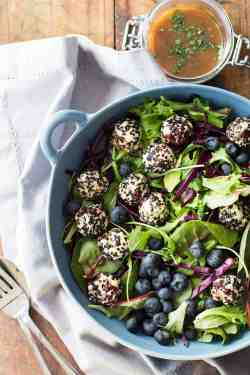 Fashionable Seeded Warm Goat Cheese Salad Green Healthy Cooking Goat Cheese Salad Dressing Lemon Juice Goat Cheese Salad Keto This Seeded Warm Goat Cheese Salad Deserves A Deliciousness Anutrient Dens