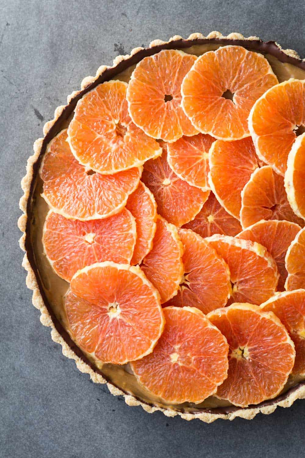 ... Healthy Almond Chocolate Caramel Orange Tart you could ever dream of